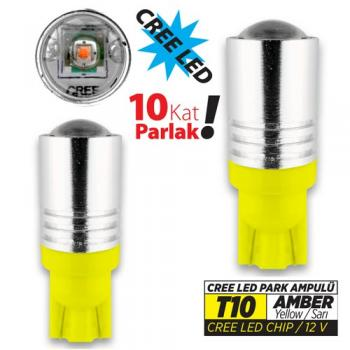 JSV LED T10 CREE LED AMBER 37528