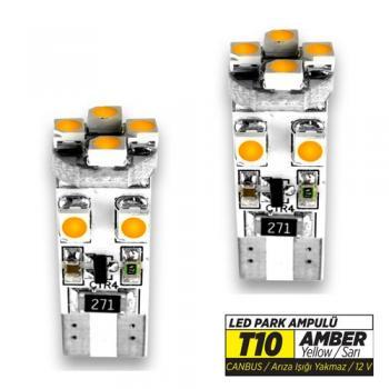JSV LED T10 600MOD AMBER 37532