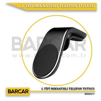 L TİPİ MIKNATISLI TELEFON TUTUCU