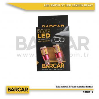 LED AMPUL 57 LED CANBUS BEYAZ