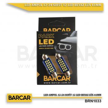 LED AMPUL 12-24 SOFİT 12 LED BEYAZ LÜX 41MM