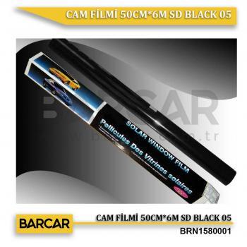 CAM FİLMİ 50CM*6M SD BLACK 05