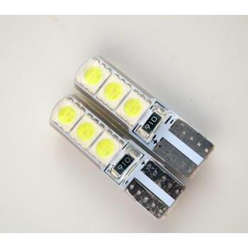 LED AMPUL 12V T10 6SMD 5050 BEYAZ